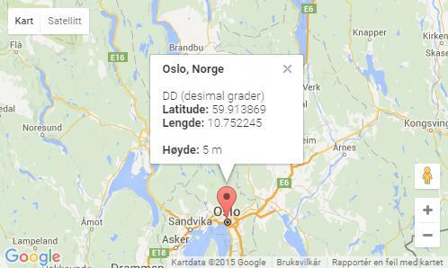 kart grader Kart over Norge og den elektroniske verden, beregning av avstander  kart grader